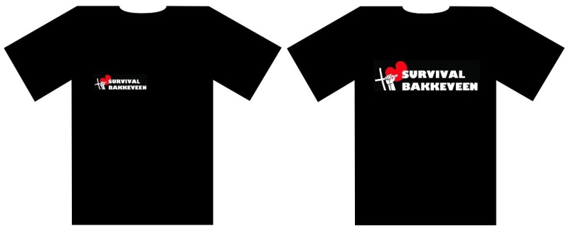T shirt survival bakkeveen